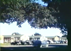 Many of the veterans and their families lived in Stanford Village, a former World War II-era Army hospital on Middlefield Road in Menlo Park. The buildings still stand today.