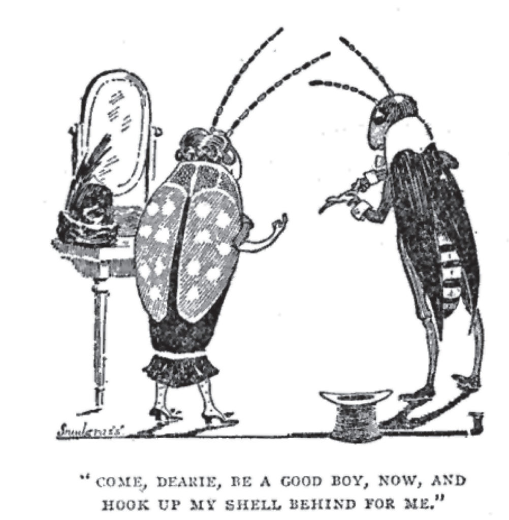 Snodgrass augmented his biology income with cartoons like this 1911 one in Life magazine.