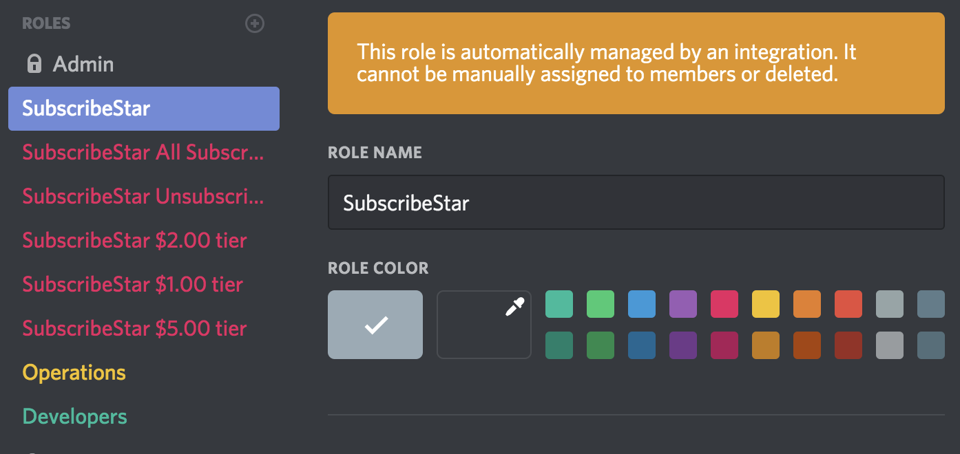 How to integrate Discord to your SubscribeStar profile