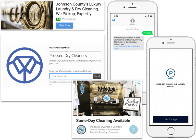 Attract Laundry & Dry Cleaning Customers with branded mobile and web Apps