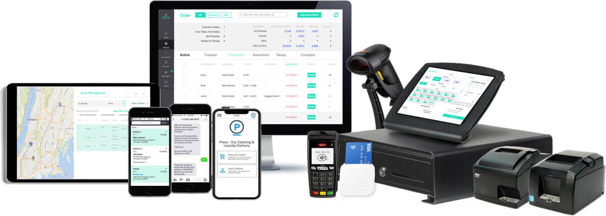 Starchup: Laundry & Dry Cleaning POS System & Delivery Apps Full Product Suite