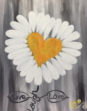 Heart Daisy