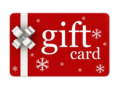 Purchase Gift Card HERE (any Denomination)