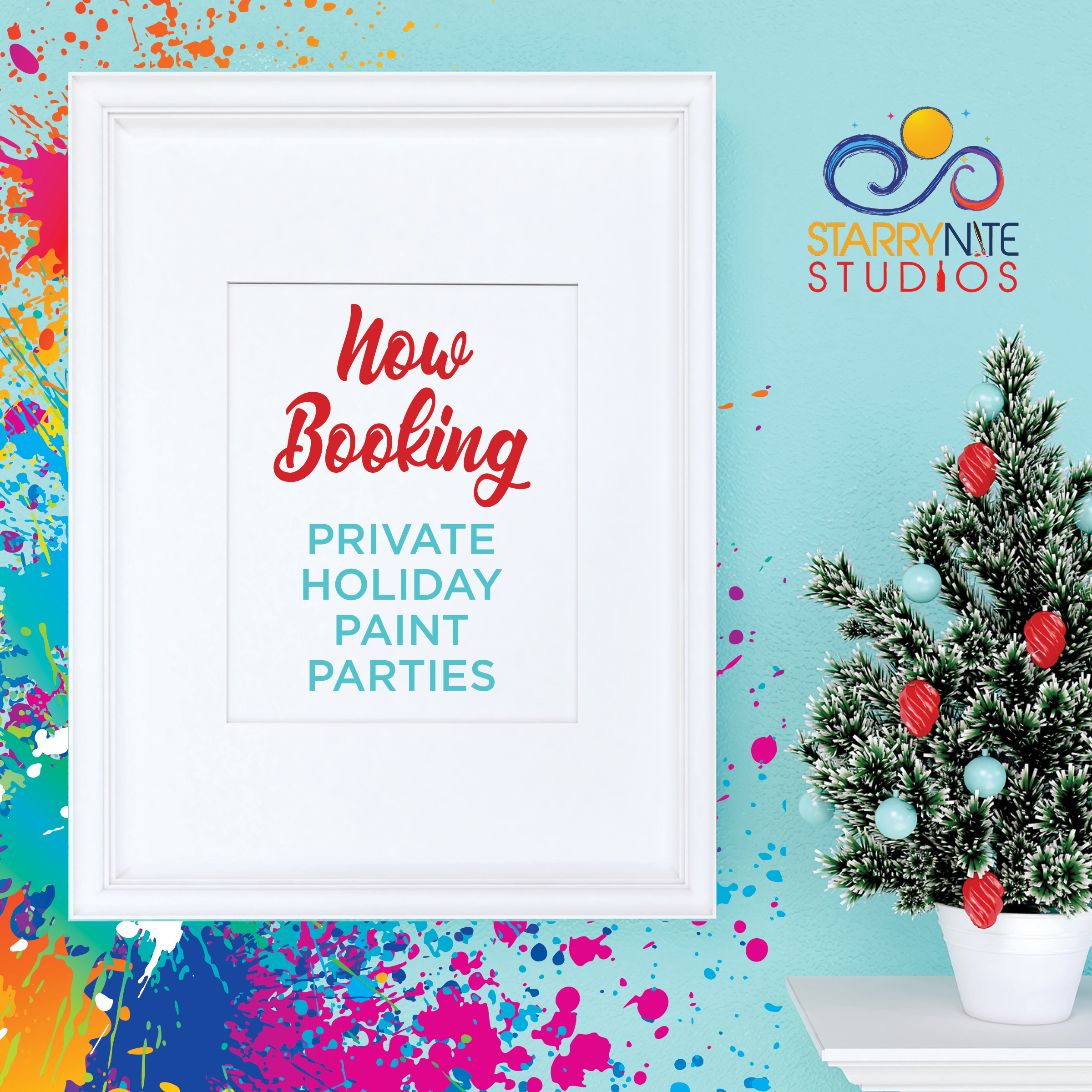 NOW BOOKING HOLIDAY PARTIES