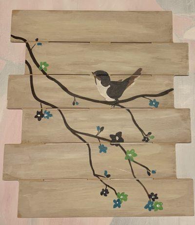 Wooden Planks Paintable Cutout