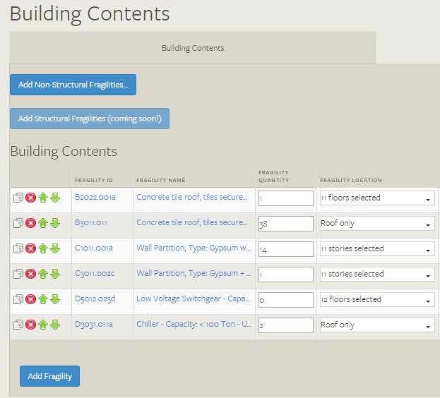 Building Contents