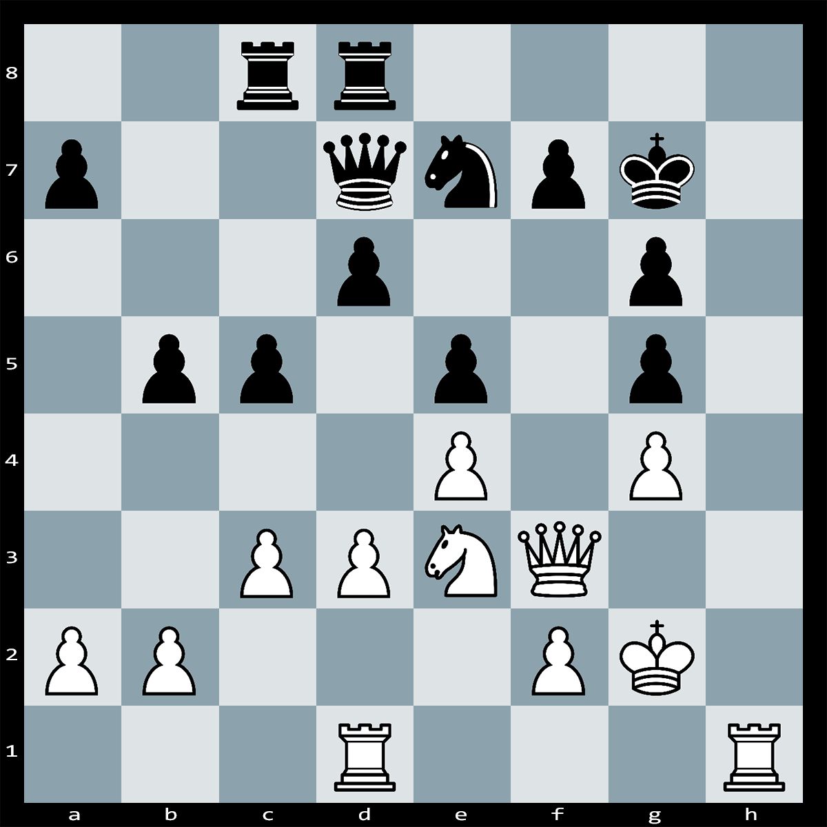 Chess Puzzle #328 | Chess Puzzle for Beginners. It's White to play and checkmate in Three. Difficulty: Easy.