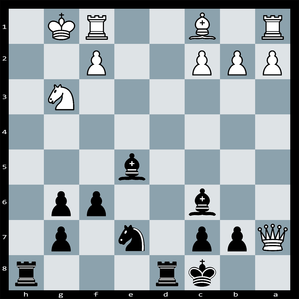 Chess Puzzle #331 | Black has a Forced mate in six moves. Can you spot it?