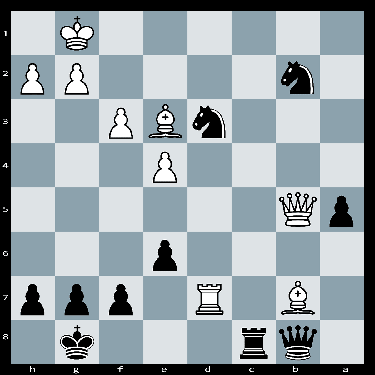 Chess Puzzle #334 | Black announces mate in seven moves. Can you spot it?