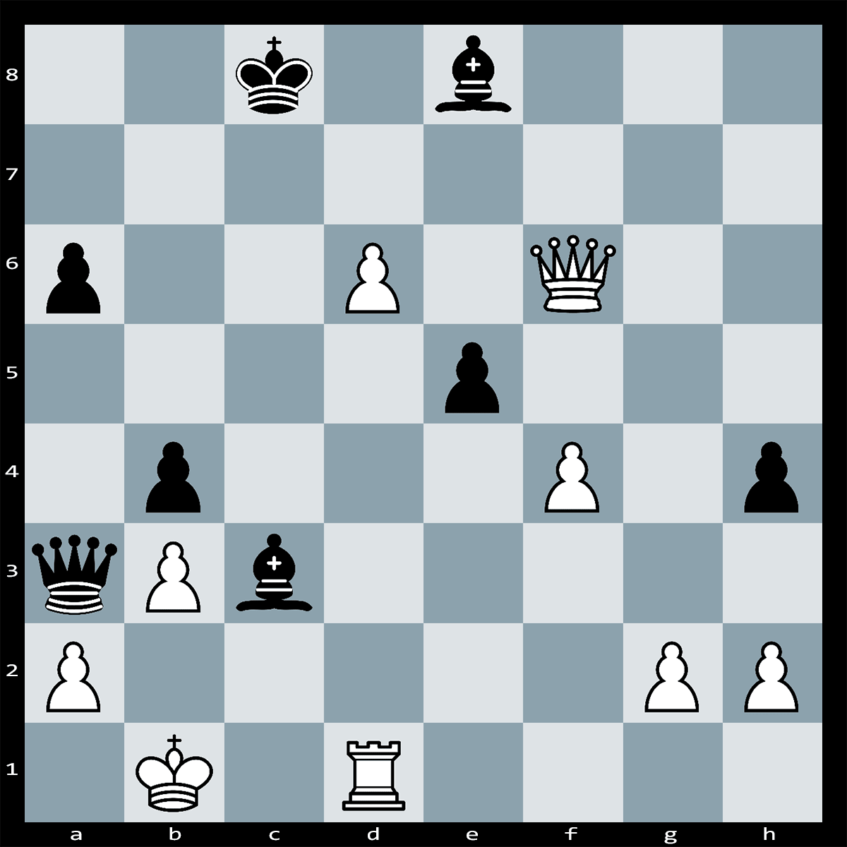 Chess Puzzle #348 | White to play and Win, It should not take more than 8 moves to win the game.
