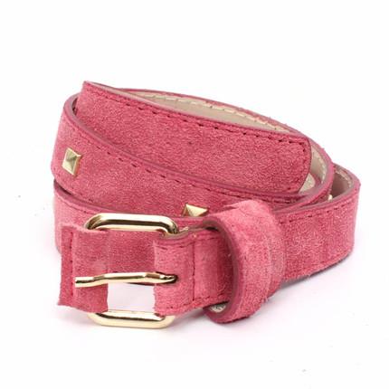 Cinturón con tachas fucsia de Las Ninetas, Las Ninetas