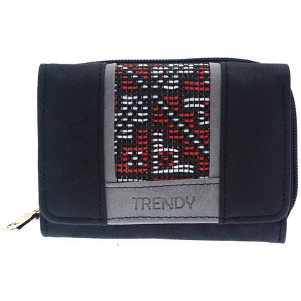 Billetera con guarda negra, Trendy