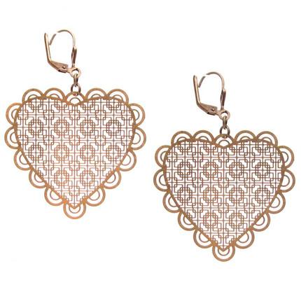 Aros bronce corazón, ShenShina
