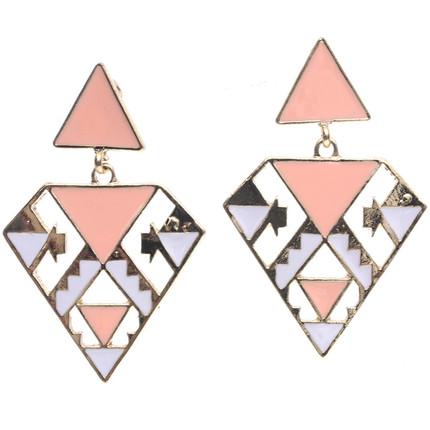 Aro triángulos dorado, ShenShina