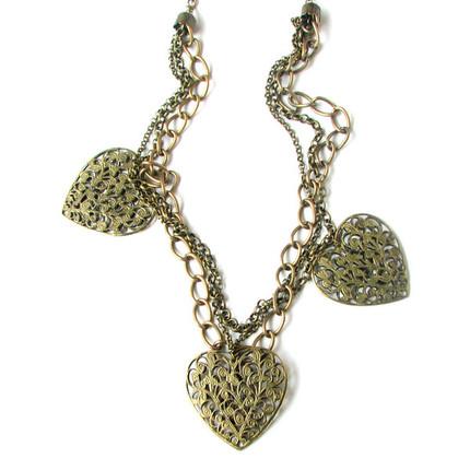 Collar corazones bronce, ShenShina