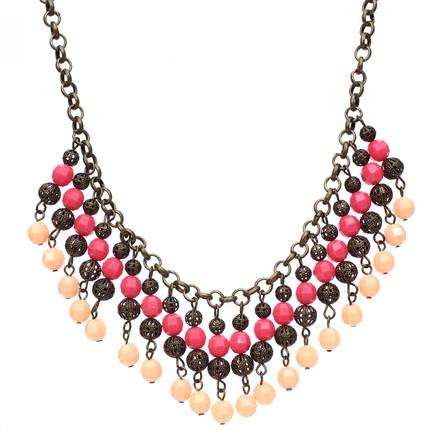 Collar Girls Fucsia y rosa, ShenShina