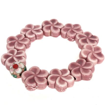 Pulsera flores rosa, ShenShina