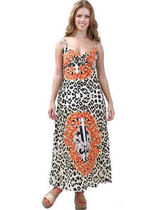 Vestido largo animal tigres New Liza, New Liza