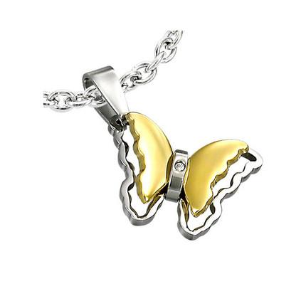 Dije Mariposa de Acero Quirúrgico, ShenShina
