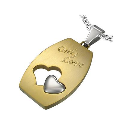 Dije de Acero Quirúrgico Only Love, ShenShina