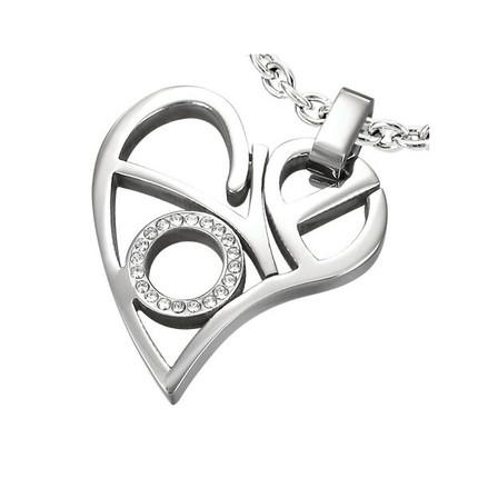 Corazón Love de Acero Quirúrgico, ShenShina