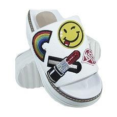 Zueco Sandalia gomon modelo PARCHIS, Shoes Bayres