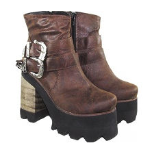 Botineta con hebilla modelo ONIC, Shoes Bayres