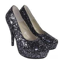 Stilletto de Glitters modelo PRINCESA COLOR 2, Shoes Bayres