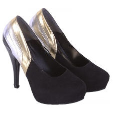 Stilletto taco fino triple linea modelo LINE, Shoes Bayres