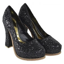 Stilletto de glitters modelo NOVA GOLD, Shoes Bayres