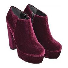 Botineta de Tersiopelo modelo DYABLITA, Shoes Bayres