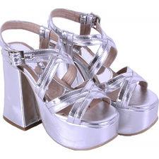 Sandalia taco Acampanado modelo NAIR, Shoes Bayres