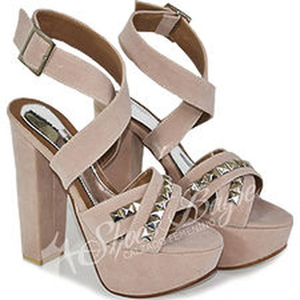Sandalia con Pulsera en cuero modelo SHIA, Shoes Bayres