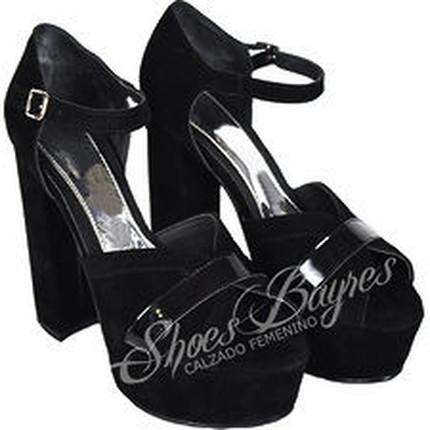 Sandalia Gamuzada fiesta modelo BELLA, Shoes Bayres