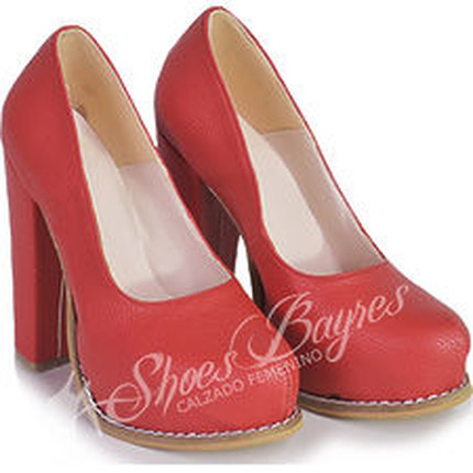 Stilletto taco cuadrado mod LYON, Shoes Bayres