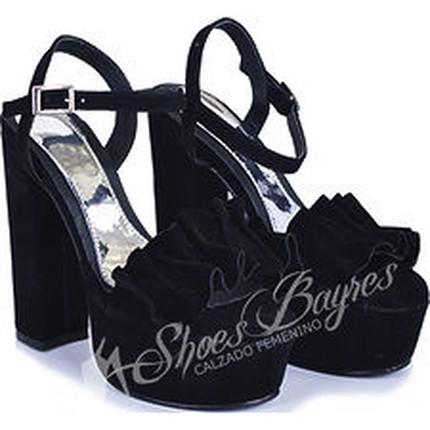 Sandalia con Volados modelo BECKY, Shoes Bayres