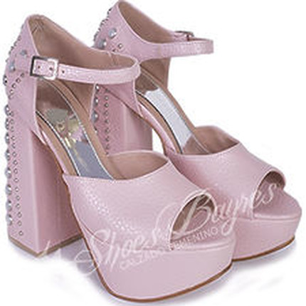 Sandalia taco tachas modelo INK, Shoes Bayres
