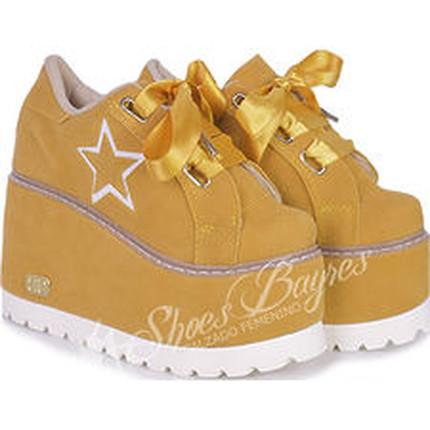 Zapatillas con plataforma modelo VICKY, Shoes Bayres