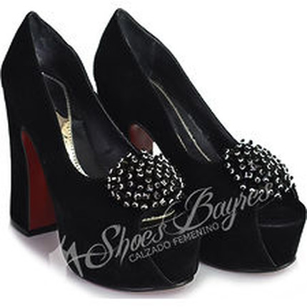 Stilletto boca de Pez PROTEA, Shoes Bayres