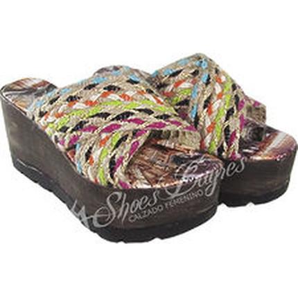 Zueco de Yute modelo EIFFEL, Shoes Bayres