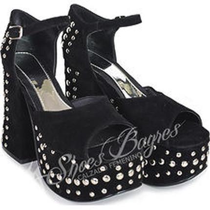 Sandalia taco tachas modelo BLEMISH, Shoes Bayres