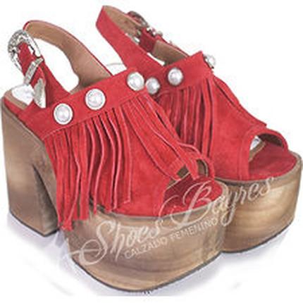 Sandalia 100% cuero modelo GHALIA, Shoes Bayres