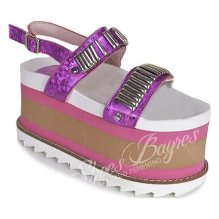 Sandalia con plataforma modelo KARA, Shoes Bayres