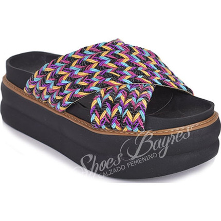 Zueco de Yute doble modelo DINA 2, Shoes Bayres