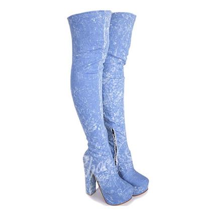 Bota Bucanera Jeans Elatizada modelo DYABLA 2, Shoes Bayres