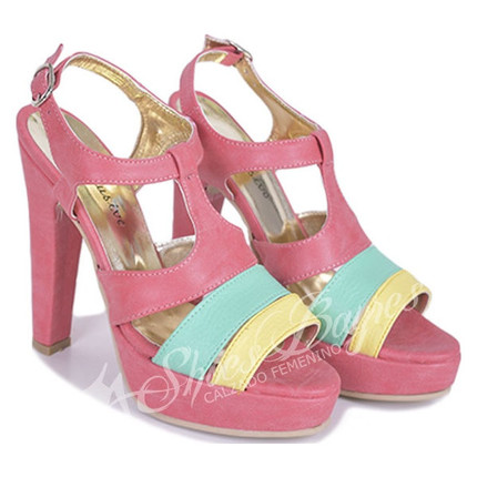 Sandalia Tricolor modelo BERLIN, Shoes Bayres