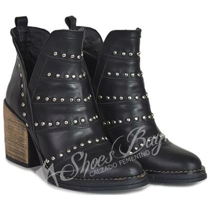 Botineta texana 100% cuero modelo PRAGA, Shoes Bayres