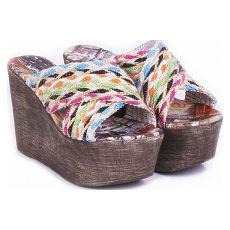 Zueco con plataforma modelo PERSIA, Shoes Bayres