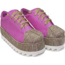 Zapatillas con plataforma y yute modelo ROMA, Shoes Bayres