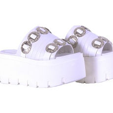 Zueco con plataforma modelo MAYA, Shoes Bayres